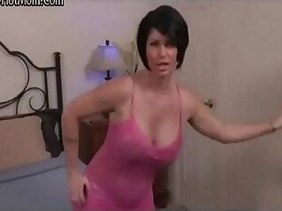 Stepmom catch stepson watching porn