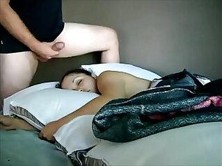 Cum On Sleeping Daughter HD