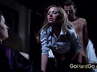 Hillary Scott Hardcore punishment by a hardcore slut porn