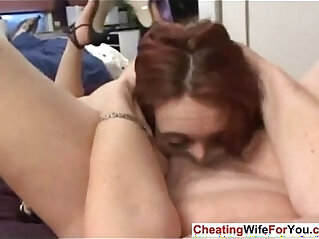 Blonde MILF Learns Anal Sex