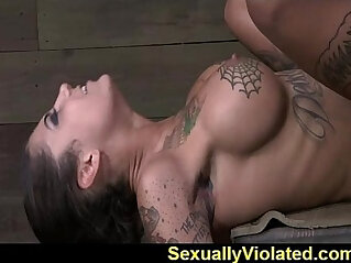 Bonnie drooling gagging and cumming