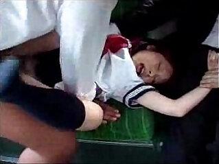 Young asian girl d