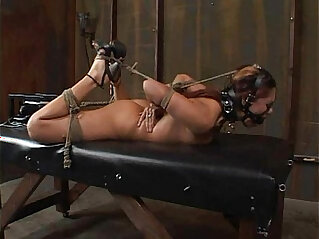Satine Phoenix Perfect Slave Hogtied and Fucked 25 2007