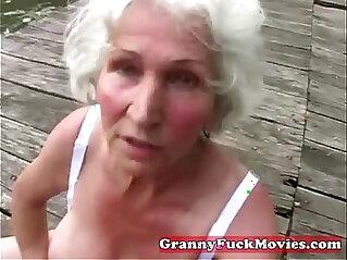 Check this dirty grandma
