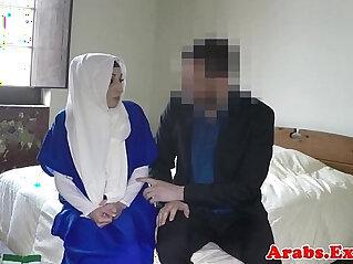 Arabic habiba throated then doggystyled