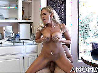 Licking and fucking hot mamma