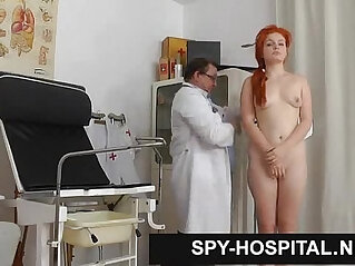 Hidden cam in gyno check up room