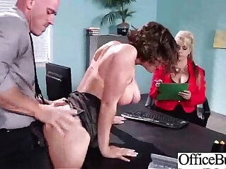 Horny Naughty Girl krissy lynn With Big Tits Get Sex In Office clip 21