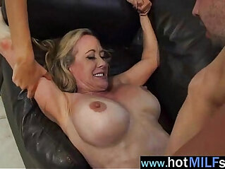 Hot Big Tits Milf brandi janice Ride Hard Dick On Tape
