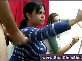 Cfnm party amateur lesbian girls