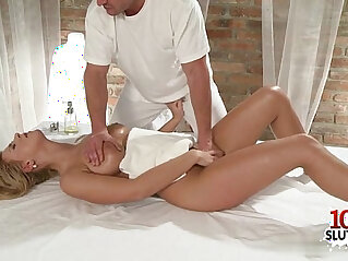 Hot girl sex with massage