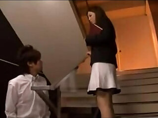Japanese Teacher vs student hot video