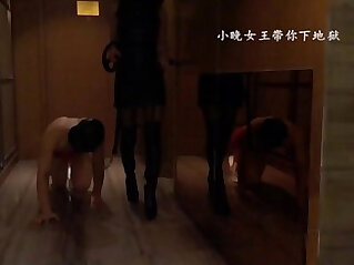 Tianjin Mistress give slave a lesson