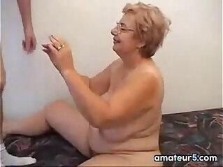 Glasses Wearing Grandma Wants To Fuck