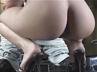 Boy teases virgin pussy makes the slut suck his dick