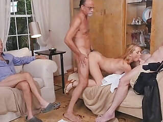 Blonde russian Teen Beauty Raylin Ann Shared By Old Dudes