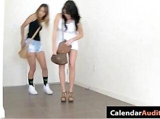 Hot Teens Attack At Hardcore Seductive XXX Calendar Audition