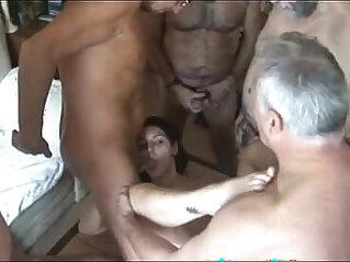 Old men fucking solo girl