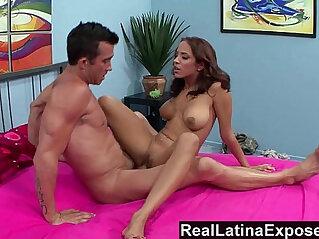 Reallatinaexposed mulani rivera wants a big load on her big tits