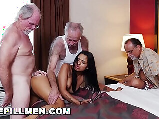 BLUE PILL MEN Three Old Men And A Latin Lady Named Nikki Kay