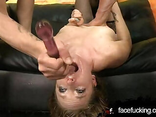 Face Fucked Amy Aimless Tagteamed