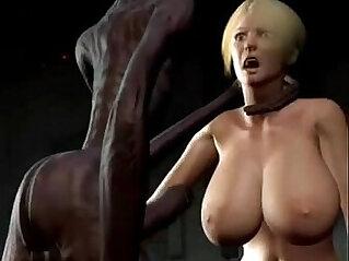 3d Anime sexo alienigena