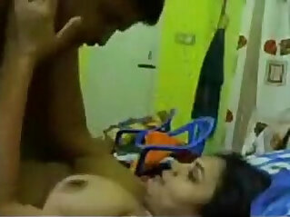 Horny couple enjoying sex
