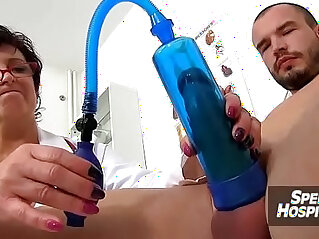 Sex and huge tits at hospital feat. dirty MILF doctor Silvy Vee